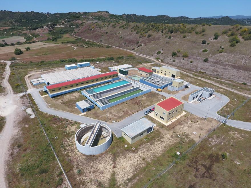 Ύδρευση-Διυλιστήριο από τεχνητή λίμνη Πηνειού (Αμαλιάδος)