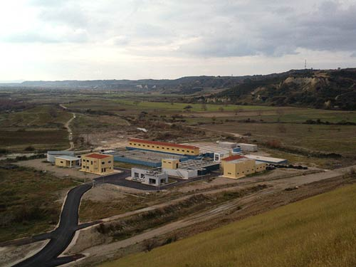 Water Treatment Plant at Pineios Artificial Lake in Amaliada