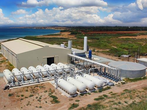 Desalination Plant in Paphos, Cyprus