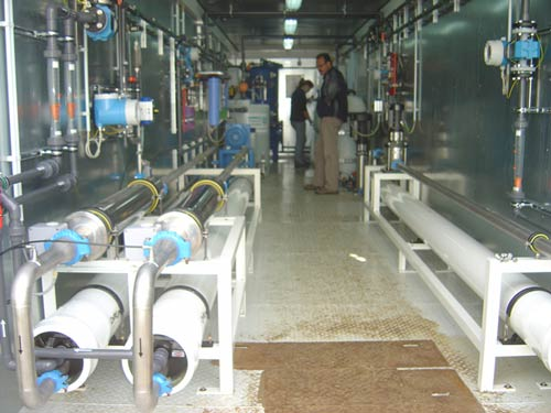 Leachate Treatment of the Sanitary Landfill Site in Temploni, Corfu using the method of reverse osmosis