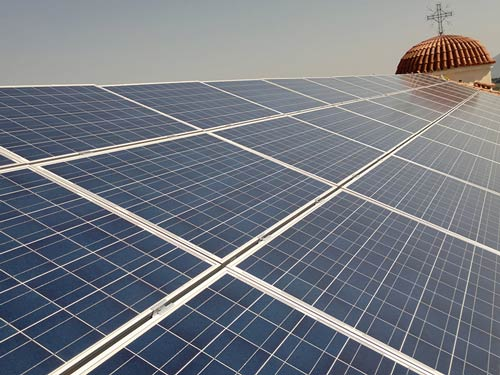 Photovoltaic Stations 20 kWp of the Special for Roofs - Church Buildings in Korinthos