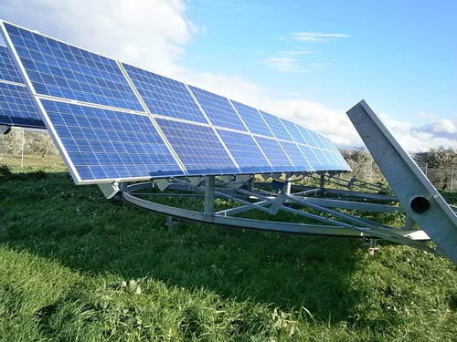 Photovoltaic Stations 200 kWp with Tracker - Location