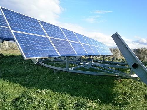 """Φωτοβολταϊκοί Σταθμοί 200 kWp με Tracker - Θέση """"ΡΑΦΗ"""" Δαύλεια Βοιωτίας"""