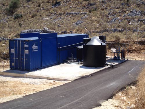 Supply of a Compact Pre-treatment unit for Sewage and a Compact Tertiary Treatment Unit in the Municipality of Poros-Skala, in Kefalonia