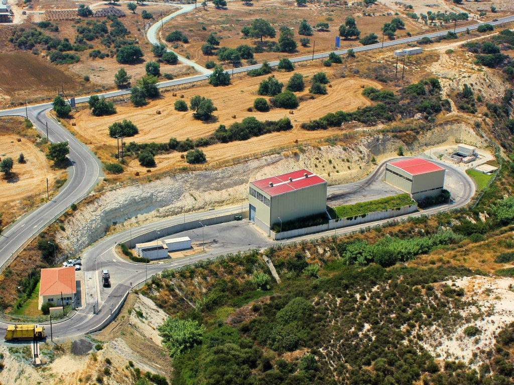 Design, construction and operation of waste transfer station of Larnaca-and Famagusta Prefectures