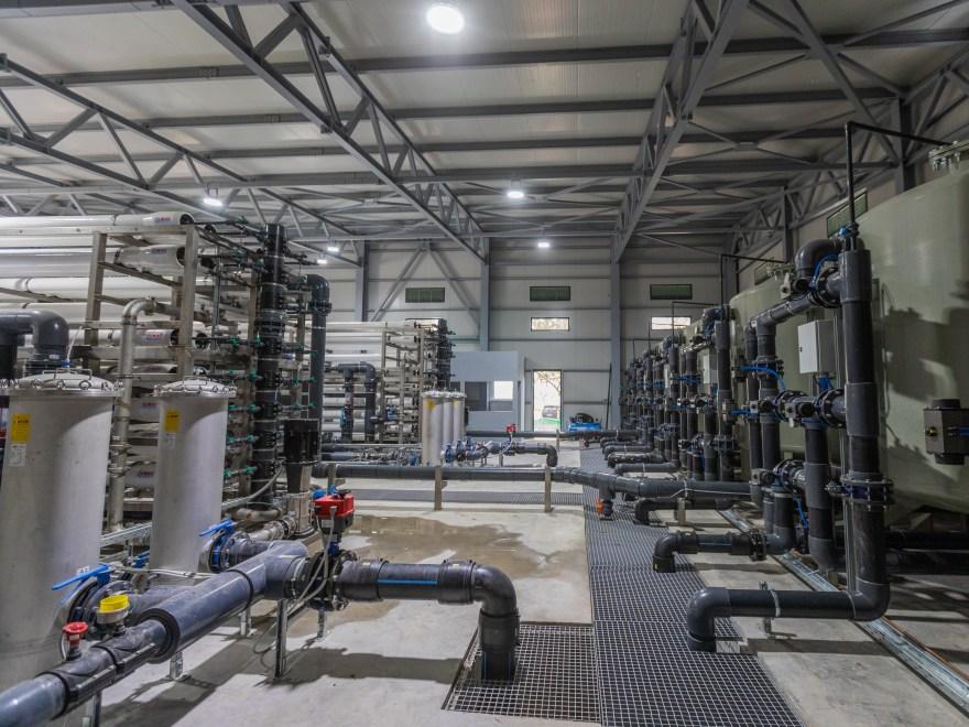 Προμήθεια, Εγκατάσταση και Λειτουργία Προκατασκευασμένης Μονάδας Αφαλάτωσης Δυναμικότητας 8.000 m3/ημέρα στο Αργοστόλι Κεφαλονιάς