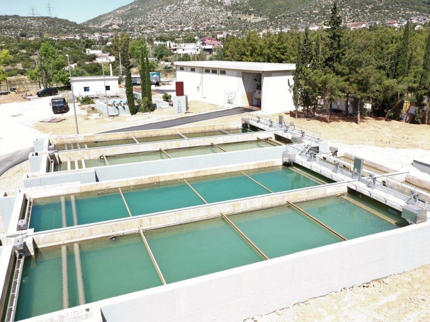 Κατασκευή Εγκατάστασης Διαχείρισης Ιλύος και Εκπλυμάτων αντίστροφης πλύσης από την μονάδα επεξεργασίας νερού (ΜΕΝ) Αχαρνών